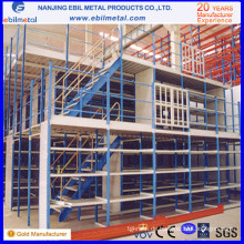 Hohe Qualität mit CE / ISO Warehouse Mezzanine Rack / Multi-Level Racking